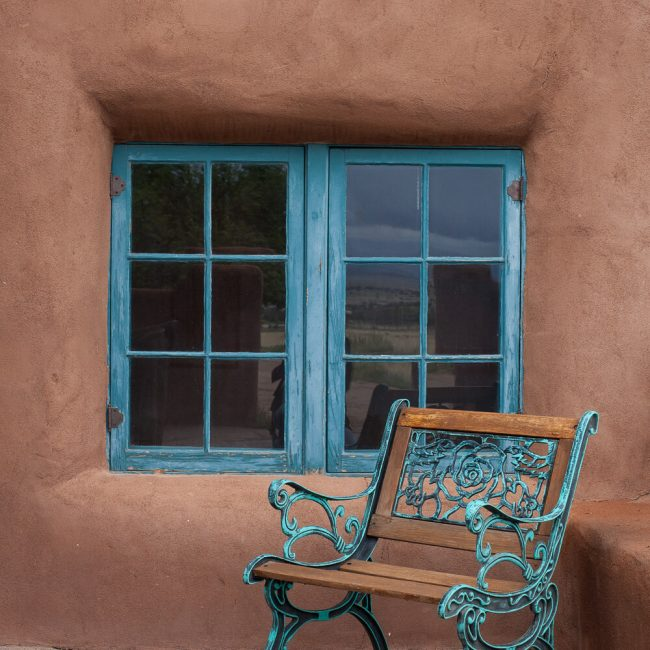 Chair at Ghost Ranch