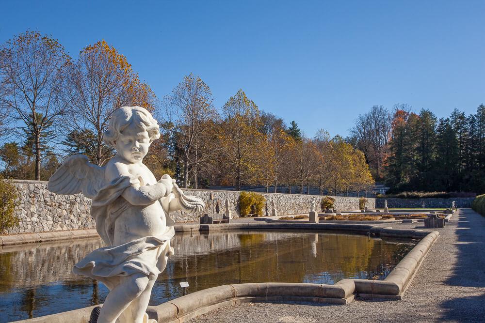 Biltmore Garden and Italian garden statuary