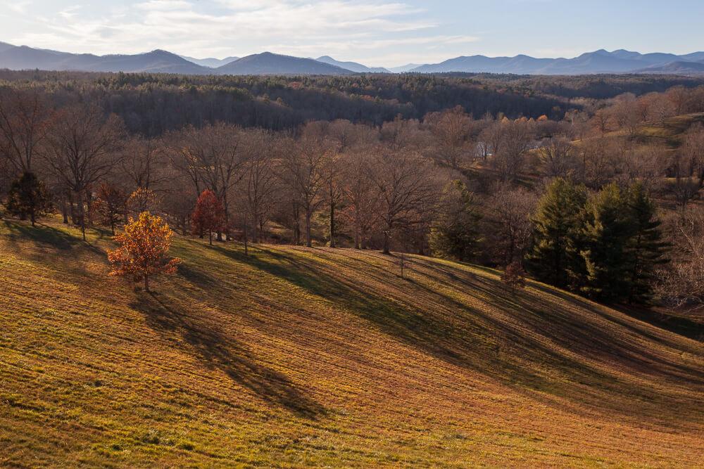 Biltmore Deer Park Blue Ridge Mountains