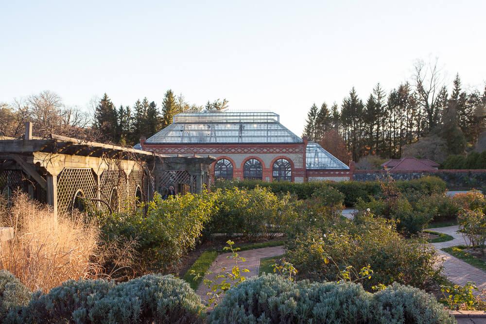 Biltmore Garden Walled Garden Glass Conservatory