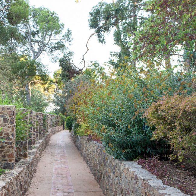 Jardins de cap roig stone terraces
