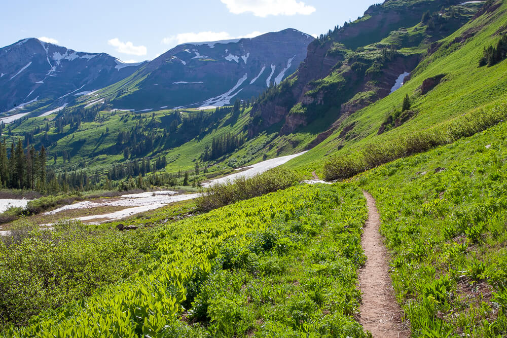 rustler gulch trail crested butte colorado